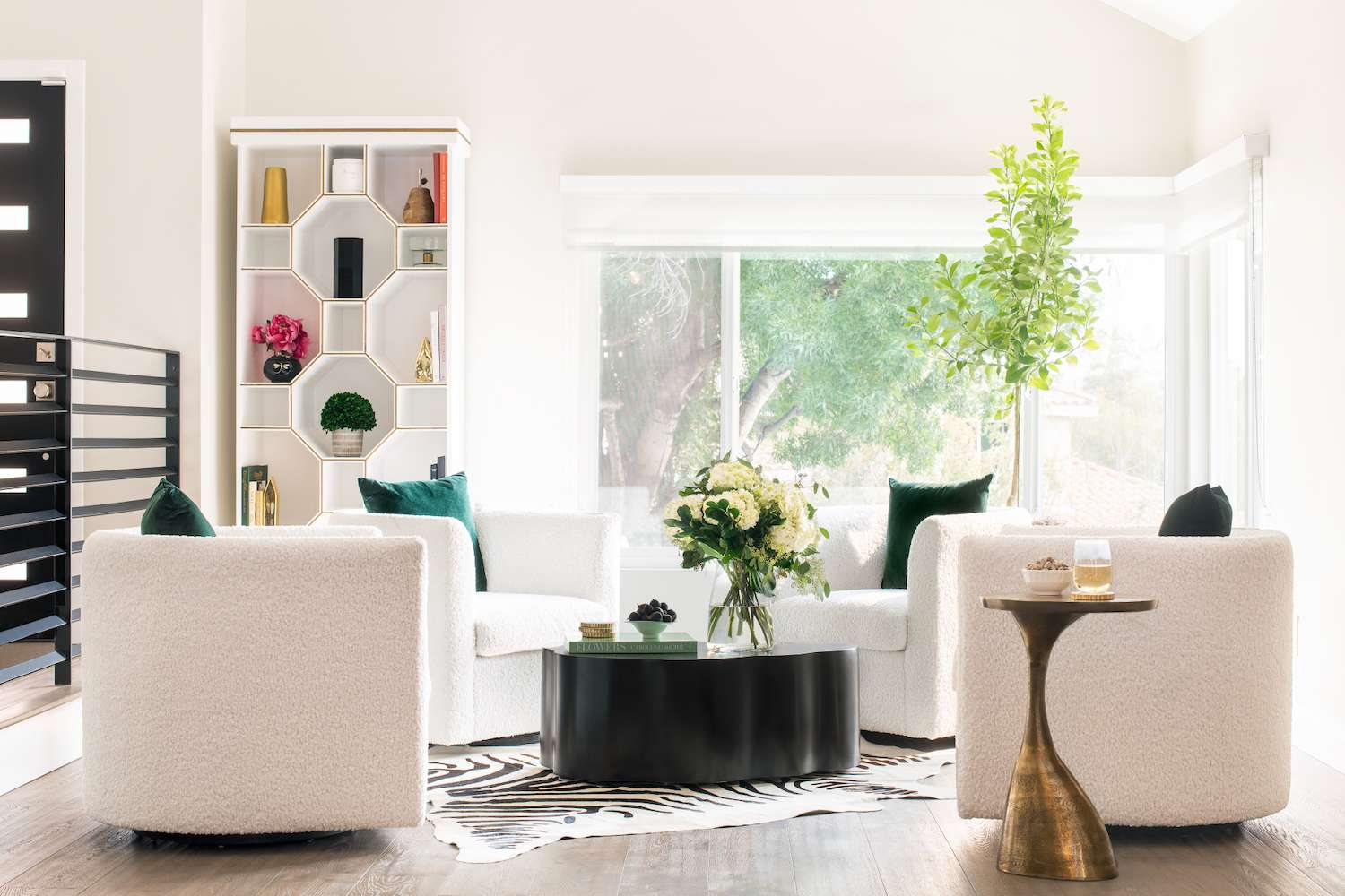 How to decorate an awkward living room