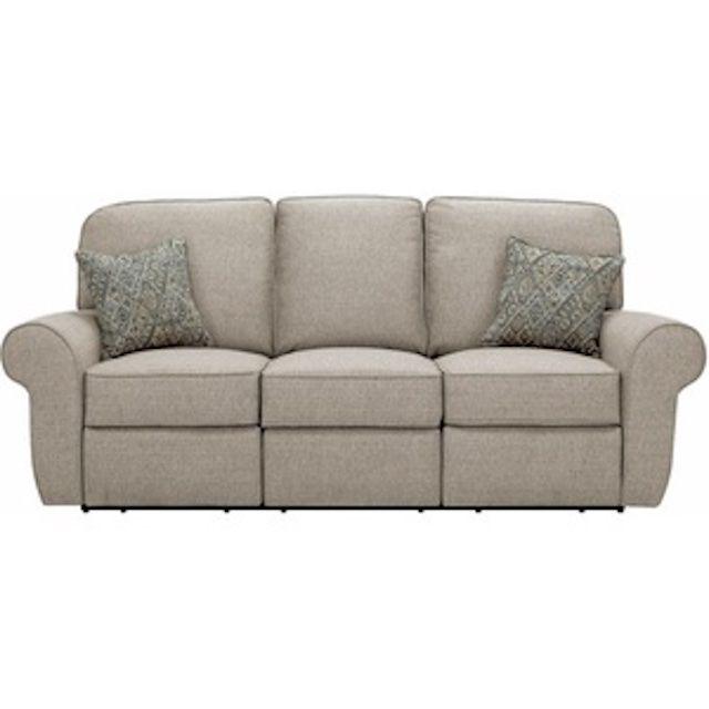 Raymour & Flannigan Stanton Chenille Wallaway Reclining Sofa