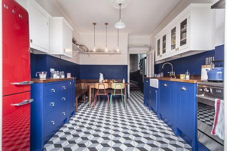 Beautiful Blue Kitchen Design Ideas Adorable Blue Kitchen Designs