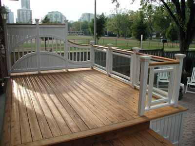 Image of a deck.