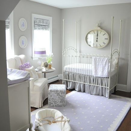 Understated Purple Nursery