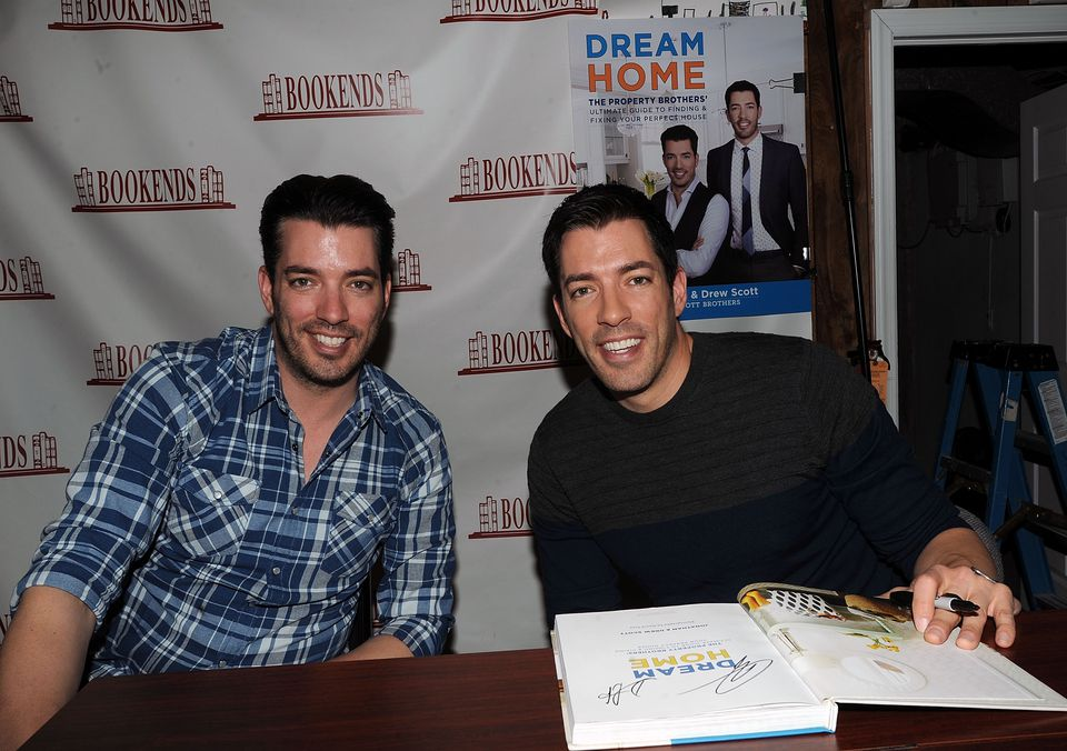 Jonathan and Drew Scott Sign Copies Of 'Dream Home'