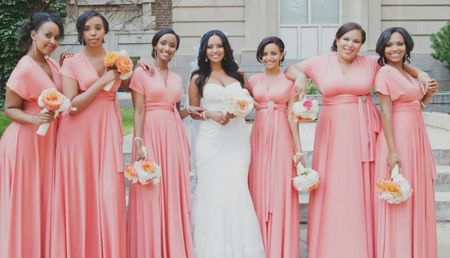 Are Convertible Bridesmaids Dresses Right For Your Wedding Party