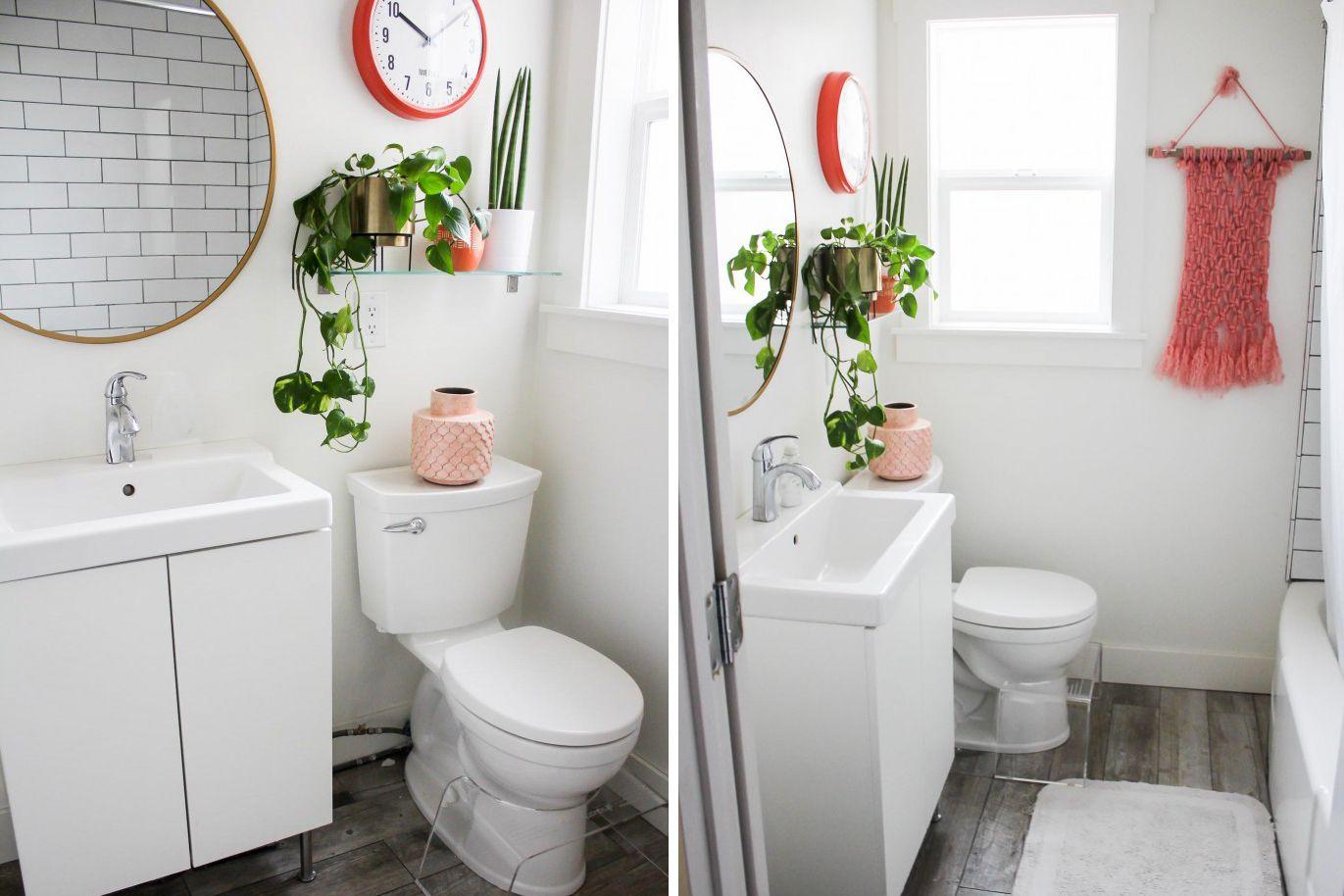add decor small bathroom