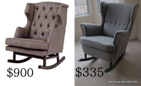 Diy Upholstered Rocker Ikea Hack