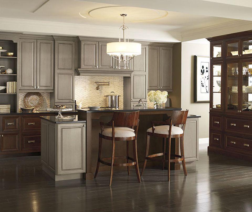 24 Grey Kitchen Cabinets Designs Decorating Ideas: 10 Inspiring Gray Kitchen Design Ideas