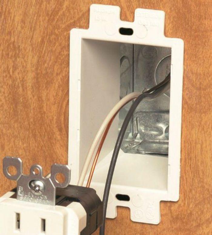 An electrical extender box