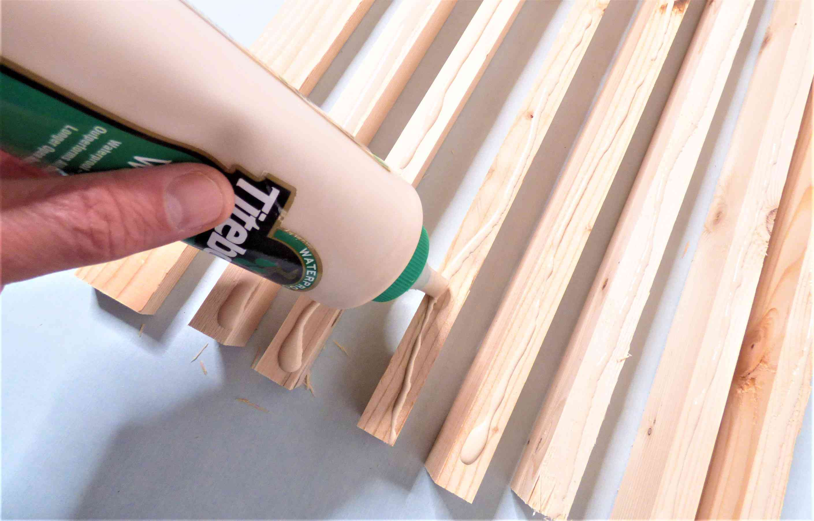 Apply Glue to Boards