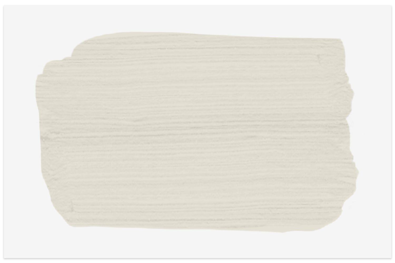 Benjamin Moore swatch in paint color Gray Mist