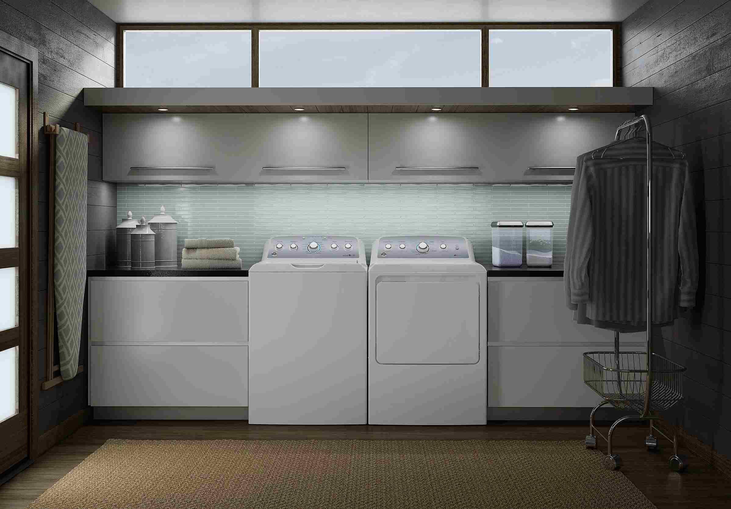 GE Modern Laundry Room