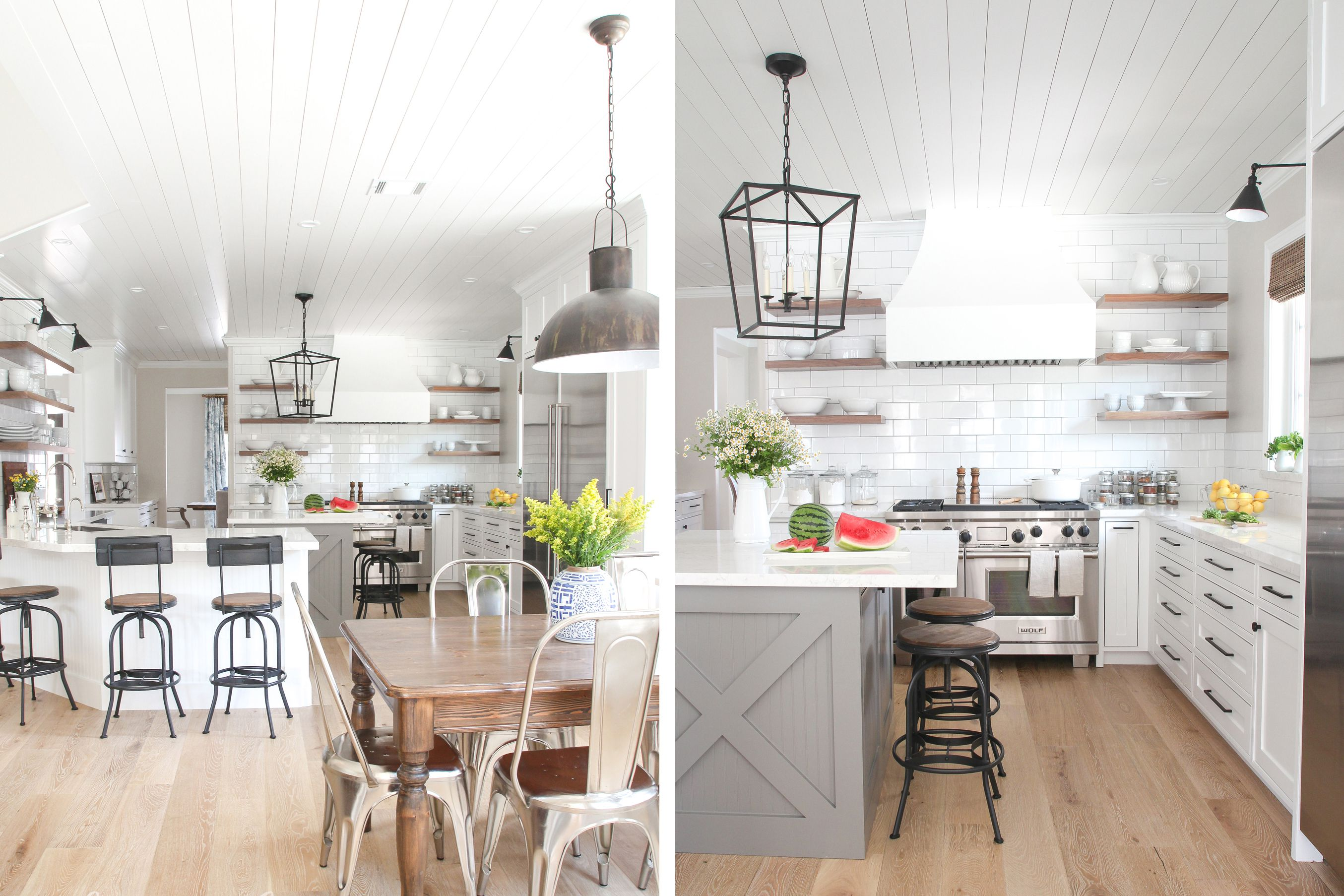 Gorgeous Modern Farmhouse Kitchens on modern farmhouse-style, modern kitchen faucet, modern white townhouse, modern white rustic, modern white family, modern white garage, modern white church, modern white log cabin, modern white shed, modern white cottage,