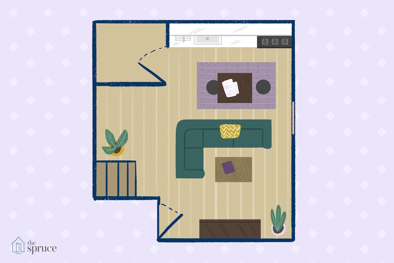 Furniture Arrangement Ideas For A Small