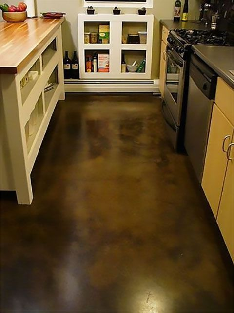 Pictures of Hardwood, Vinyl and More Kitchen Flooring on