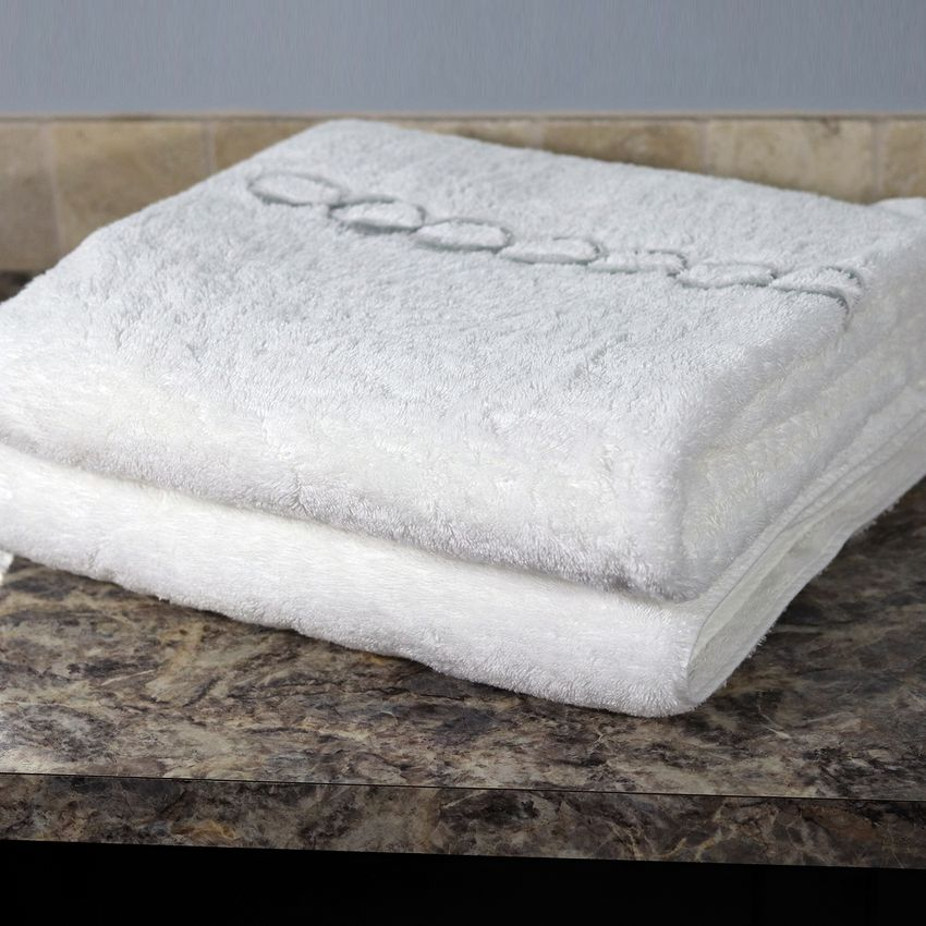 Calla Angel Luxe Chain Egyptian Cotton Bath Towels