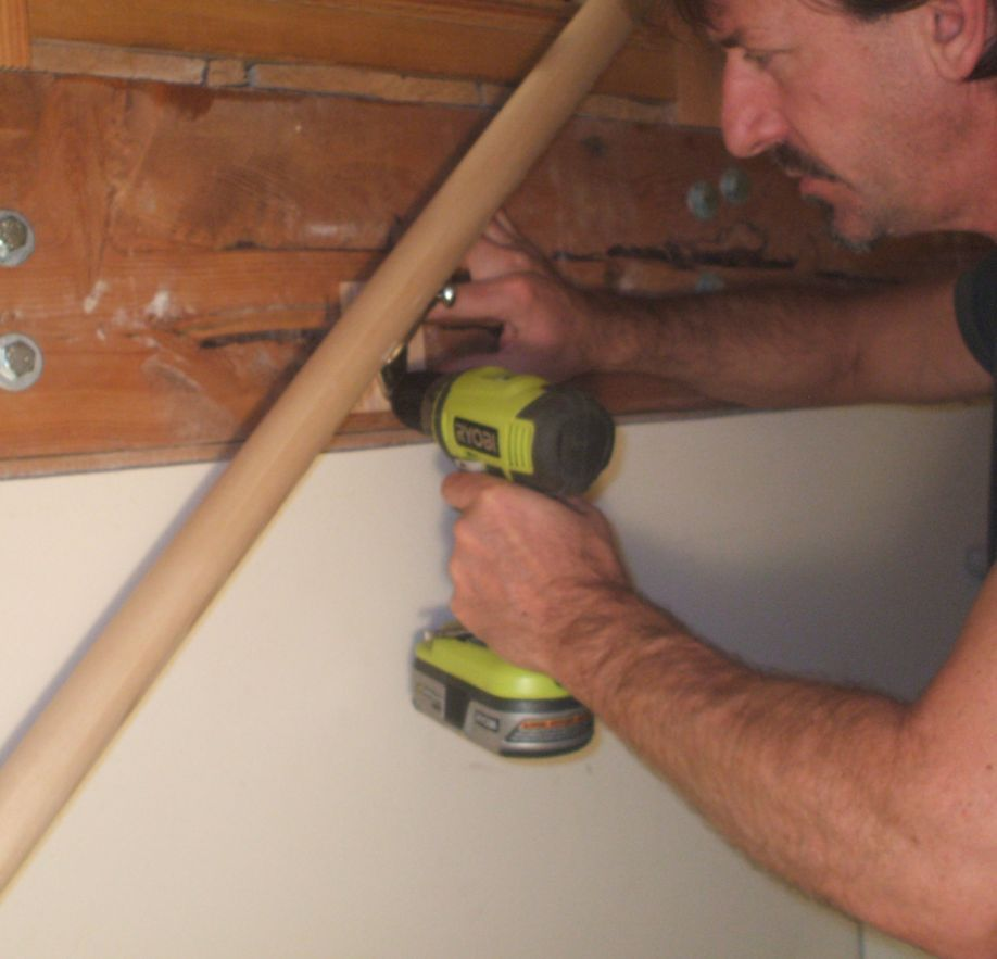 Install Middle Bracket