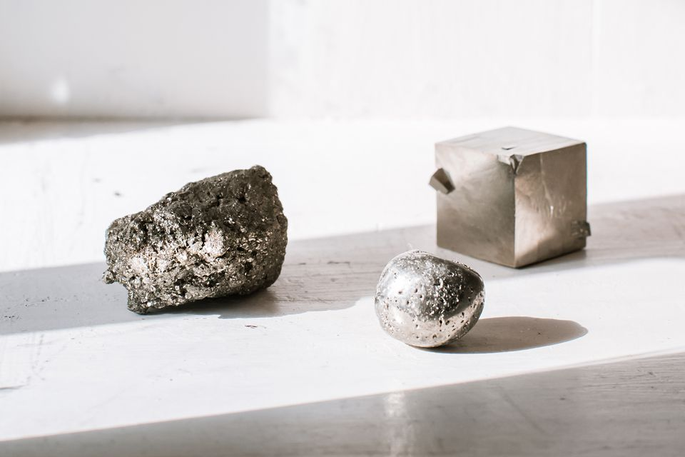 pyrite, also known as fool's gold