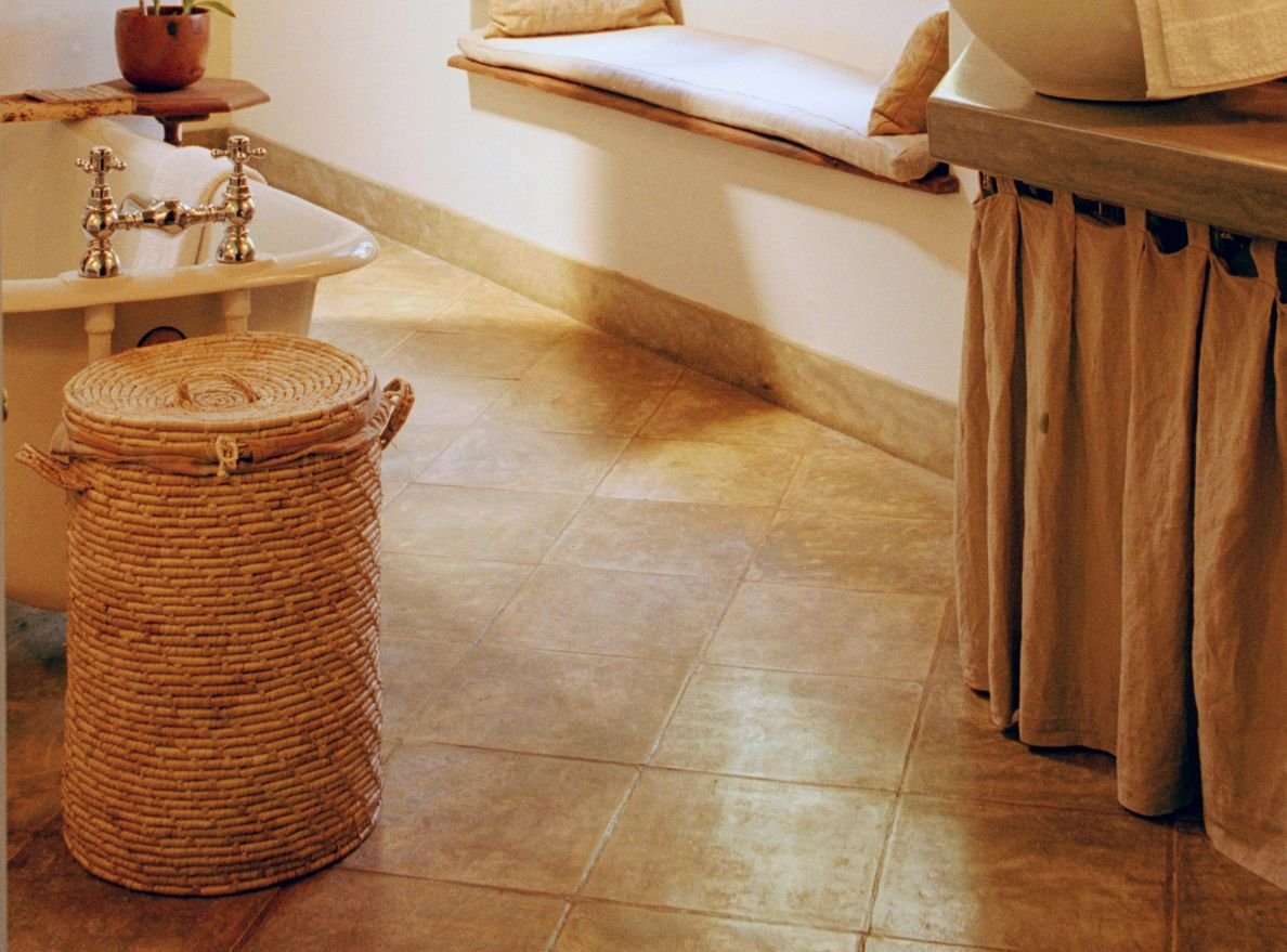 Lovely Floating Basement Floor Tiles
