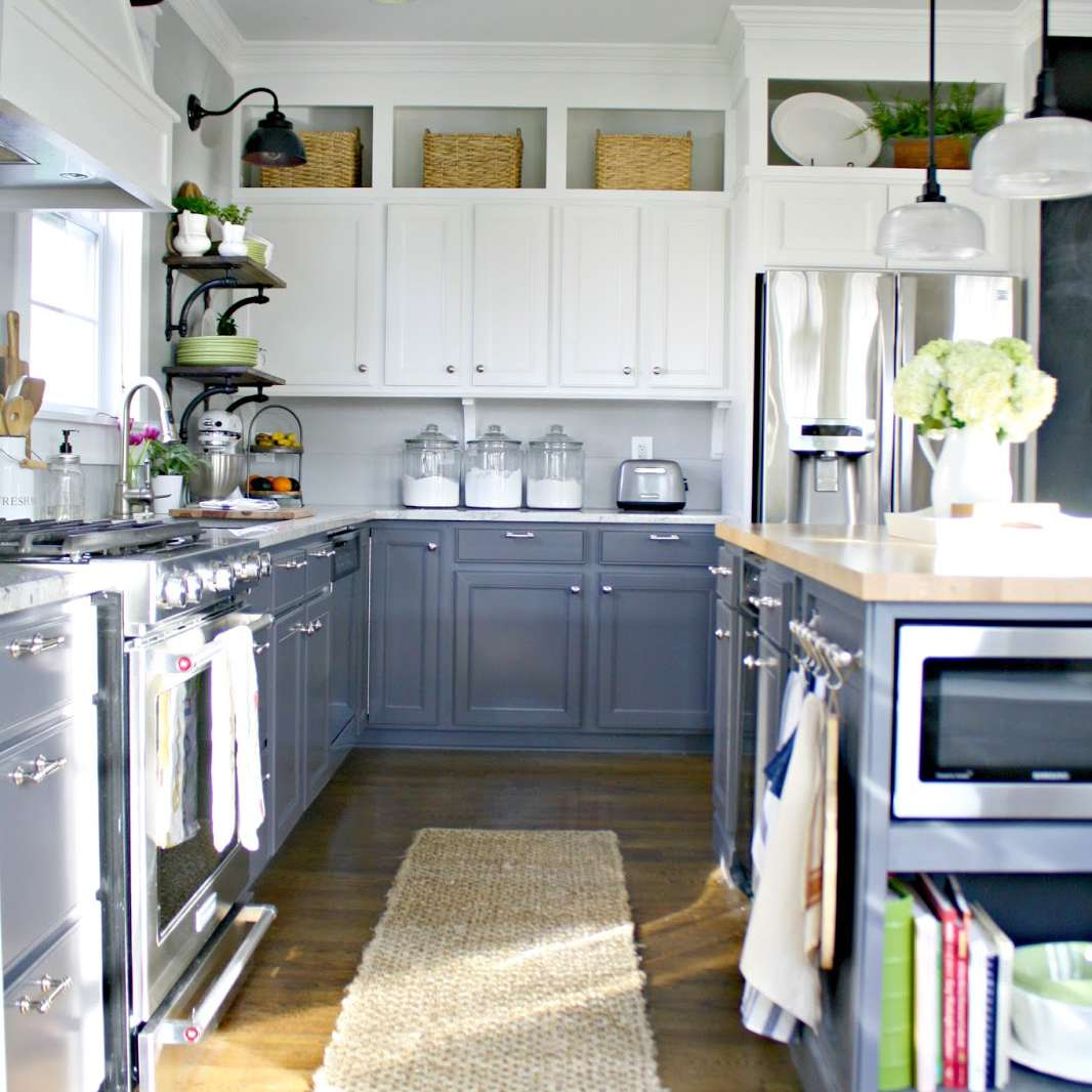 Storage Ideas Above Kitchen Cabinets 9 Ways to Decorate Above Your Kitchen Cabinets