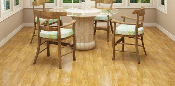 piso de comedor laminado de imitación de madera dura