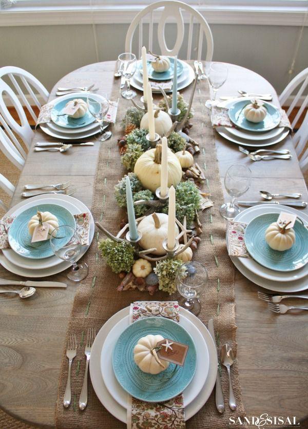 New Thanksgiving Table Runner Ideas