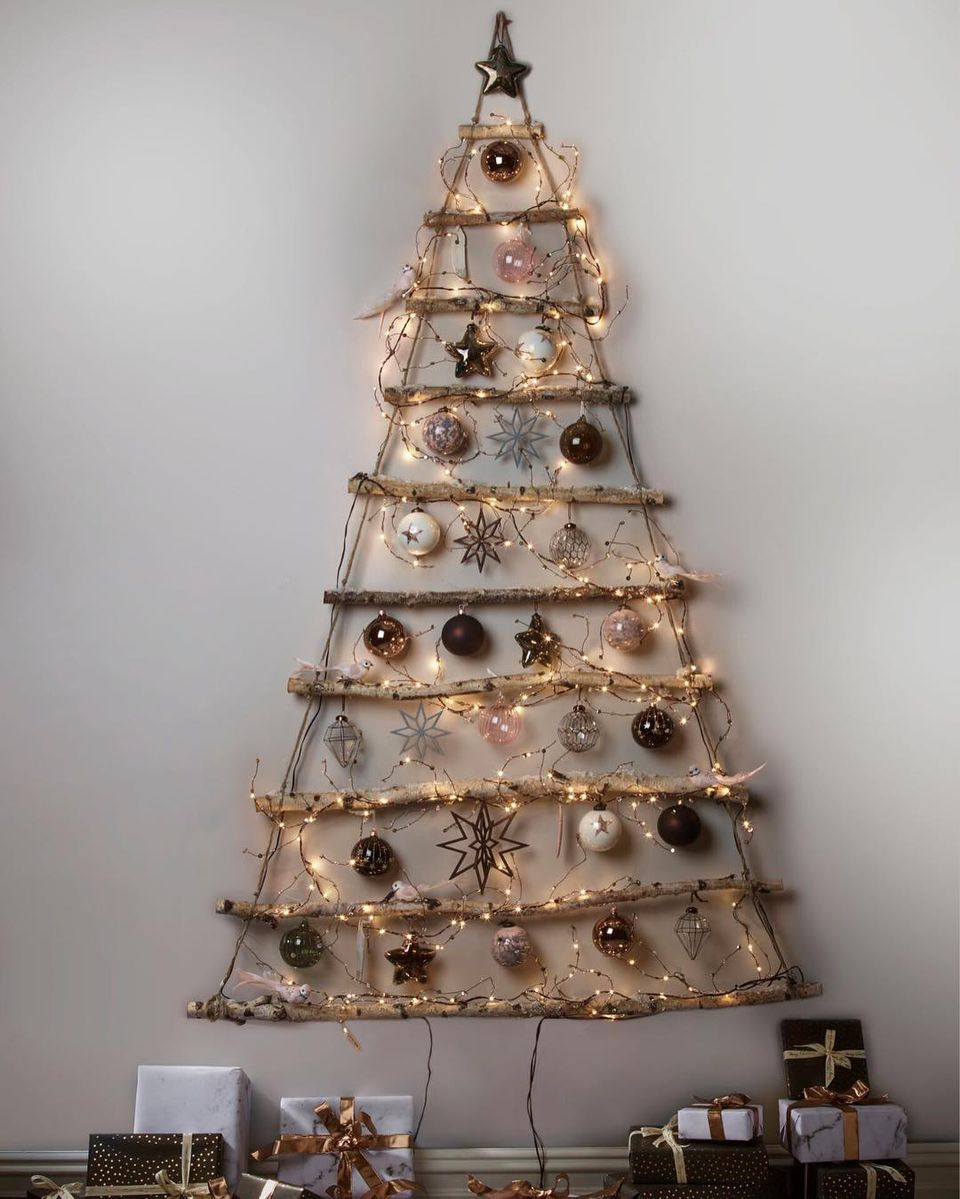Christmas Tree Alternatives For Christmas And The Holiday