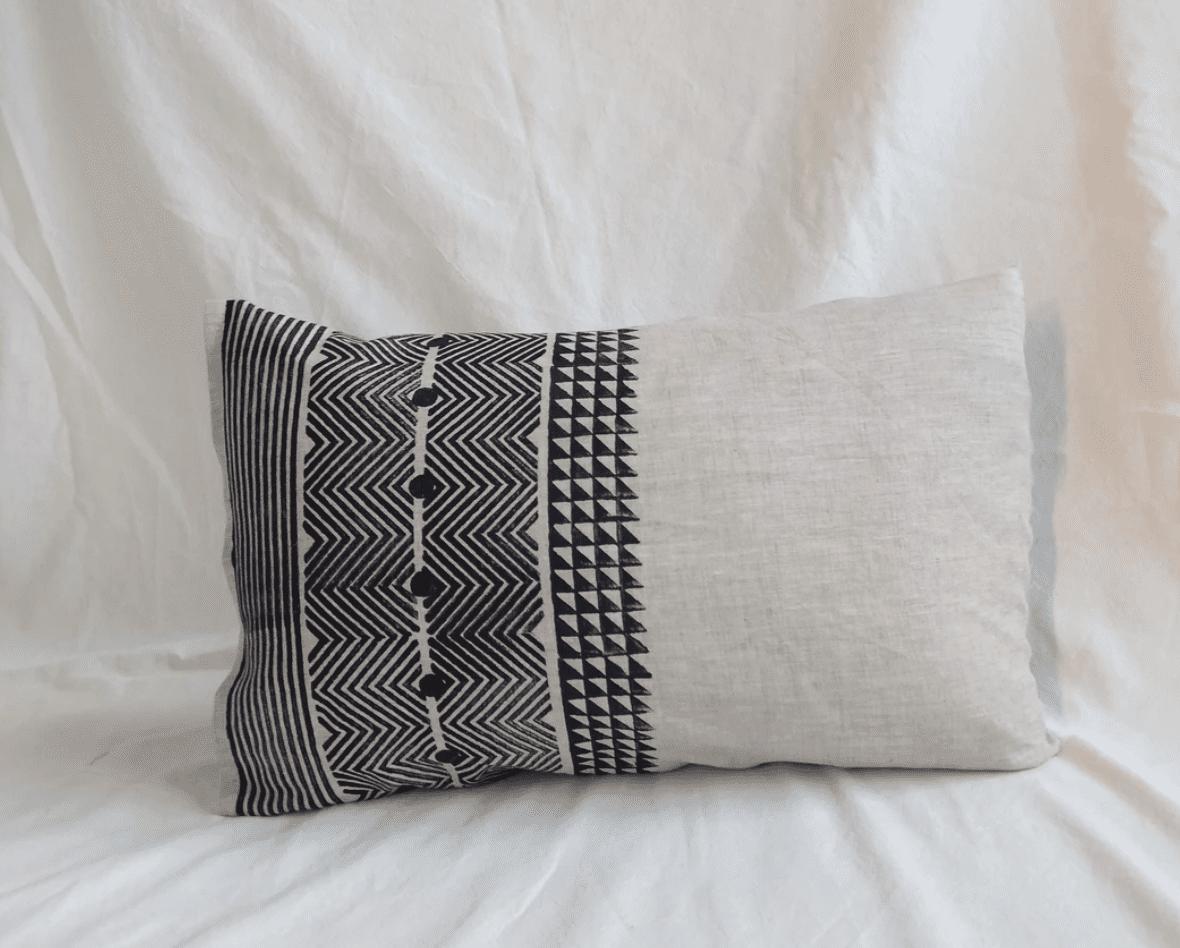 Amu lumbar throw pillow cover