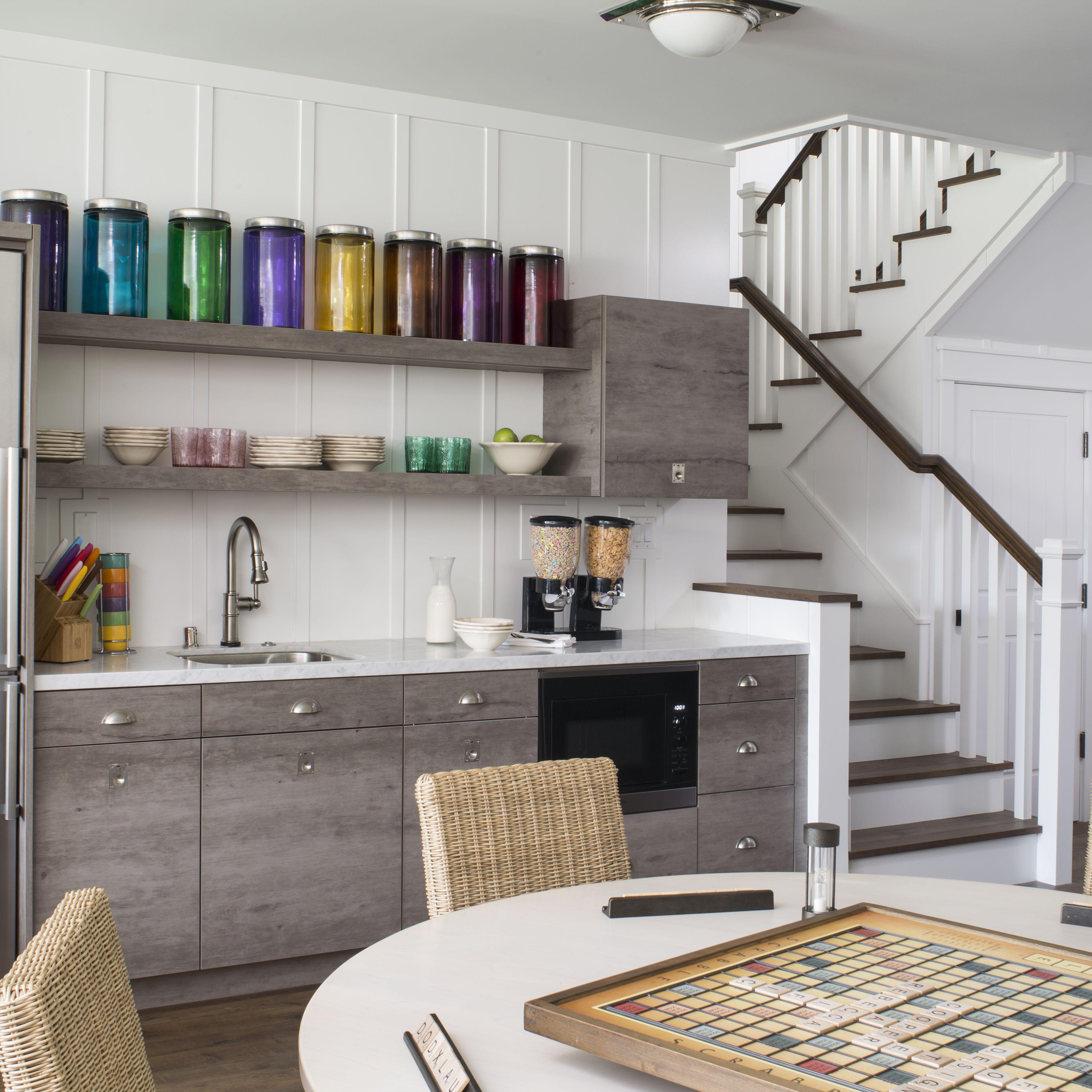 Basement Kitchenette Ideas