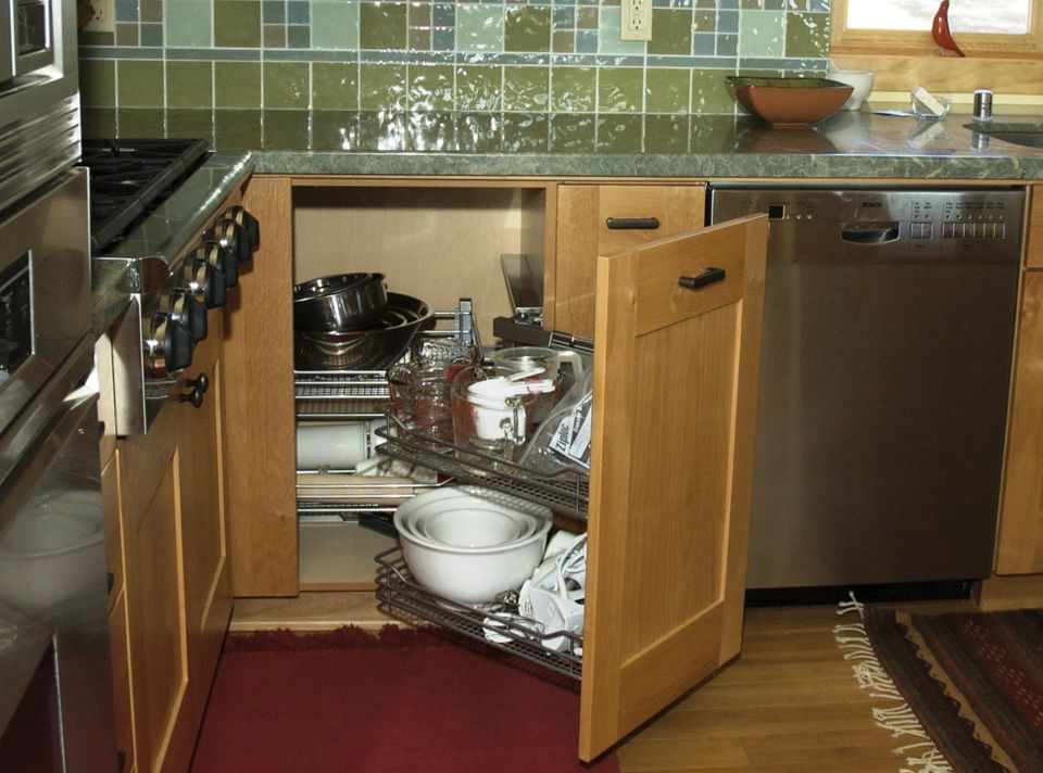 Increase the Functionality of Your Blind Corner Cabinet