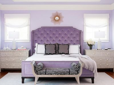 How To Decorate Your Bedroom With Purple Ideas