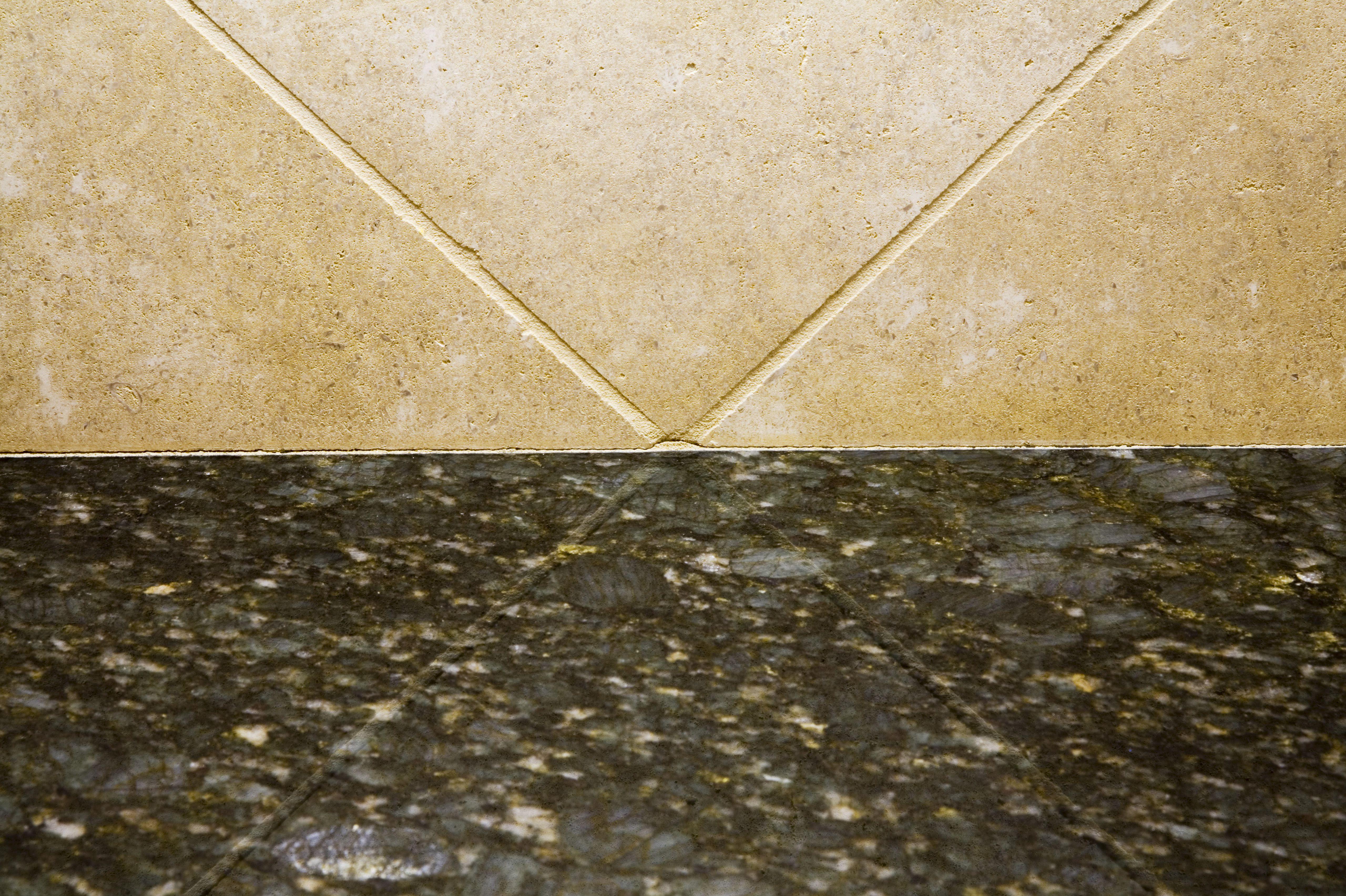 Granite Countertop and Tile Wall