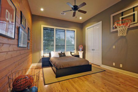 Basketball Sports Themed Boys Room Idea Architecture Art Design
