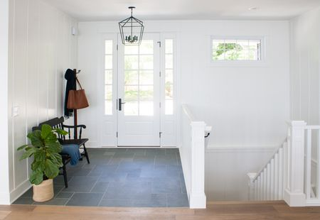Blue Slate Entryway Floor Tile