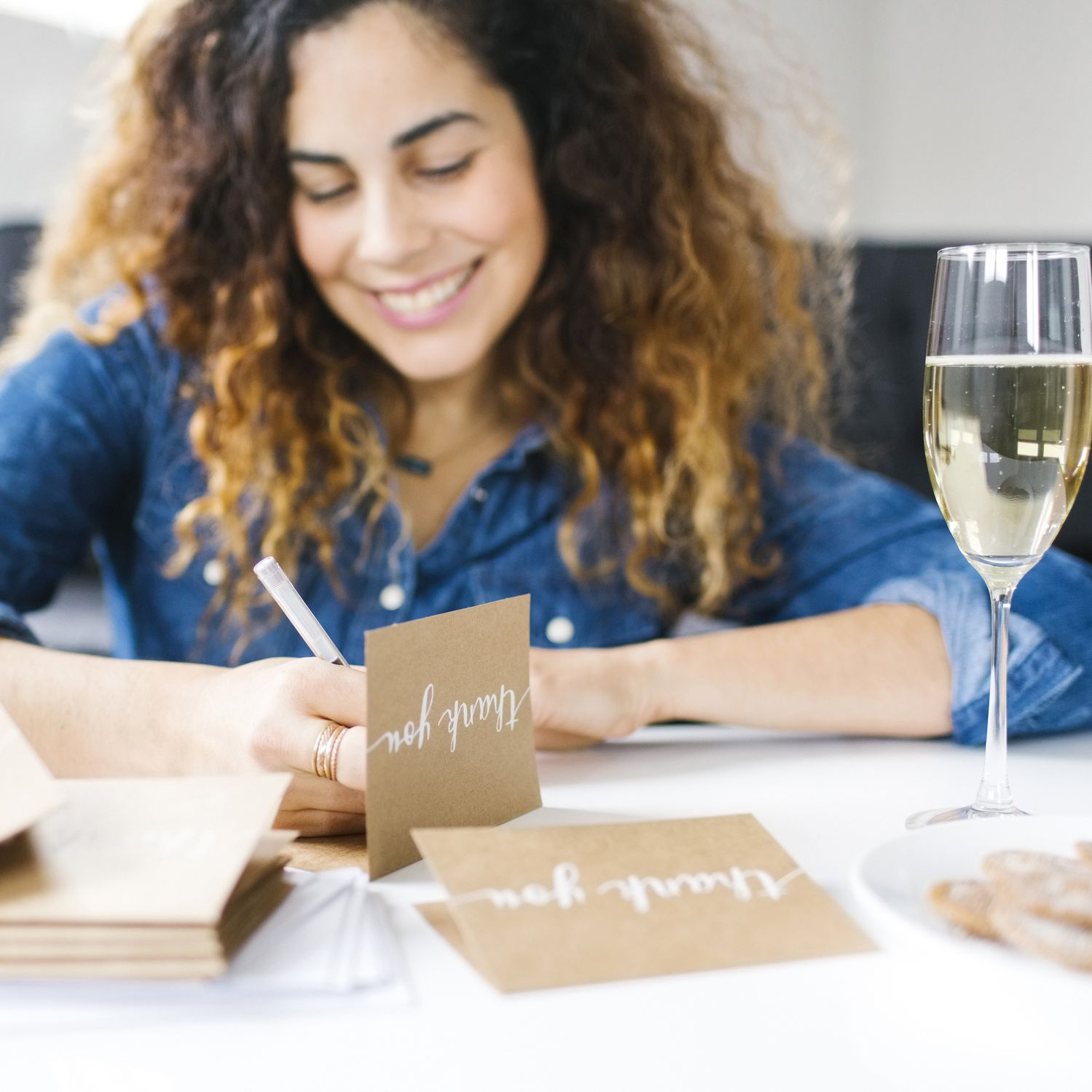 Bridal Shower Thank You Note Etiquette