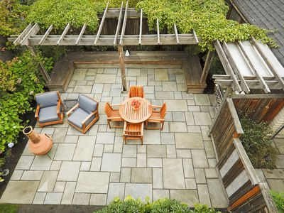 How to Design and Install a Paver Patio - How To Cut Brick, Concrete, Or Stone Pavers