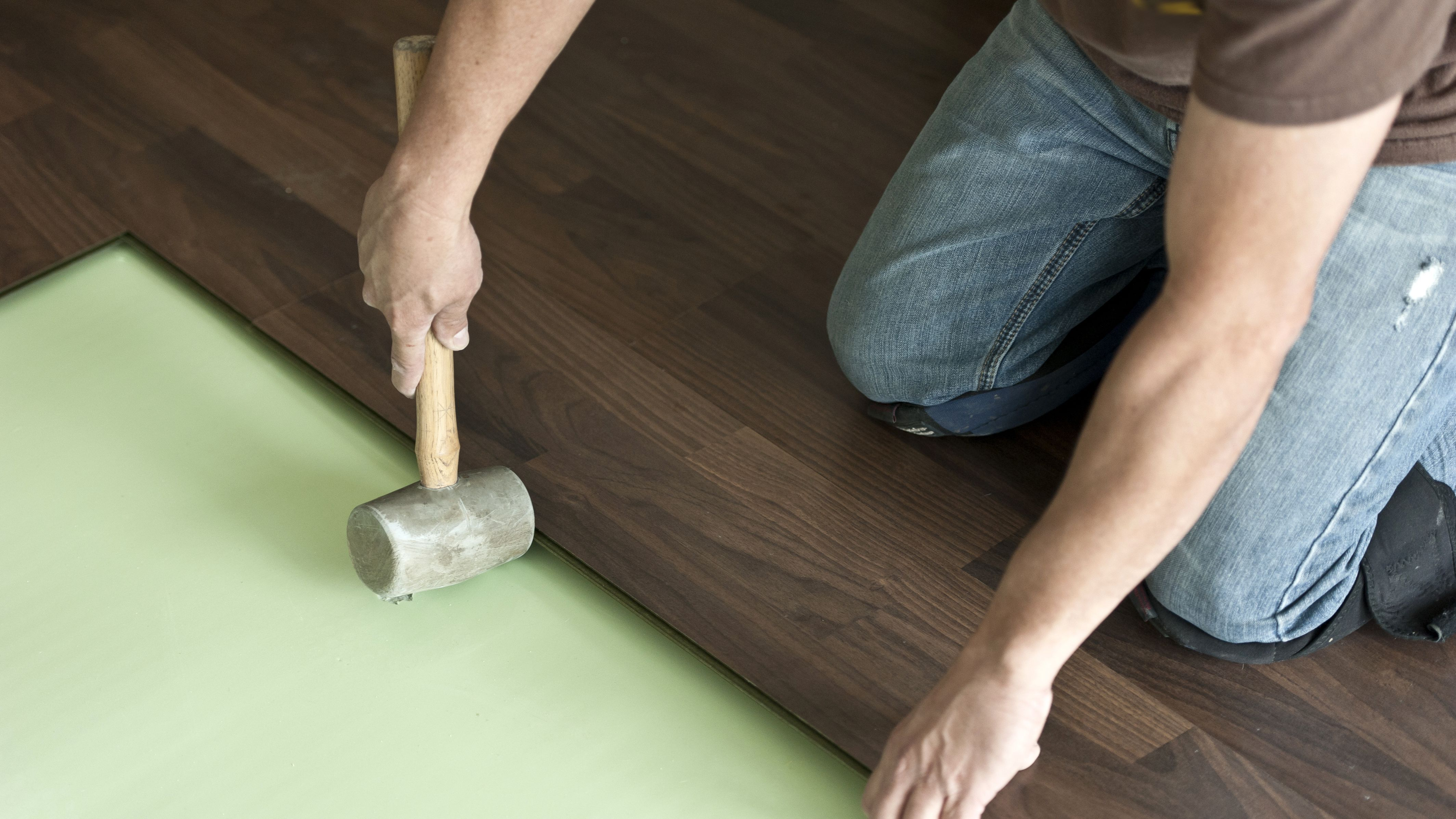 Can You Add Padding Under A Hardwood Floor, Tar Paper For Laminate Flooring