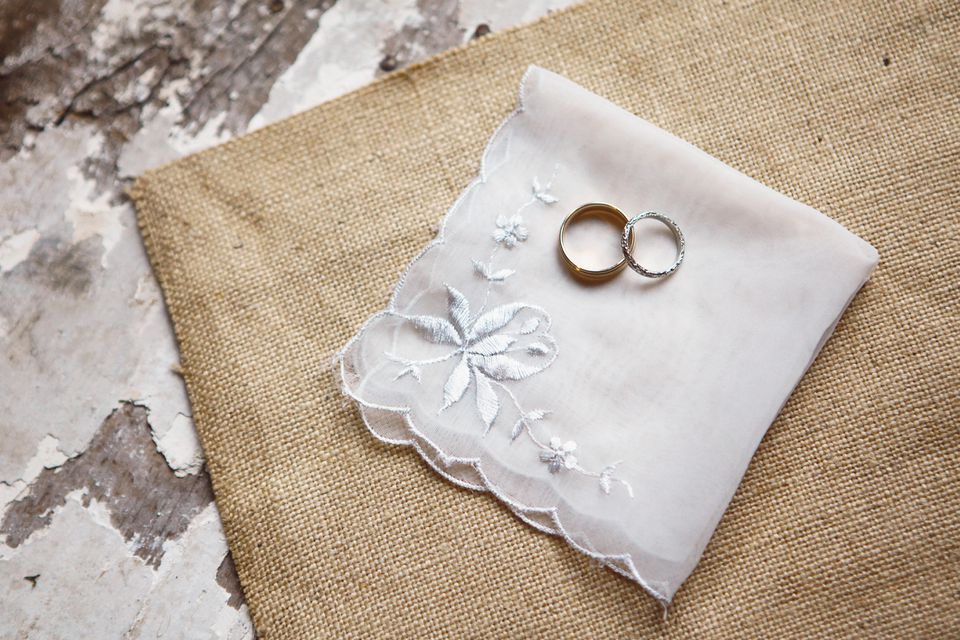 Wedding Antique Handkerchief