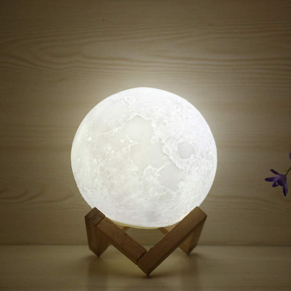 HaloVa WCH8141 Night Light Moon Lamp