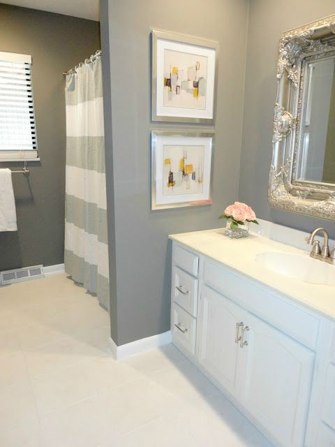 25 beautiful gray bathrooms - Gray Tile Bathroom
