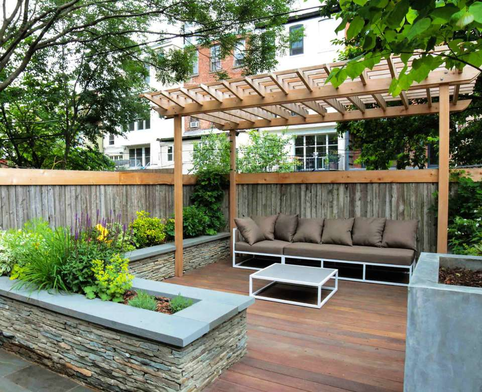 23 Landscaping Ideas for Small Backyards on backyard with pergola ideas, backyard with pool ideas, yard deck ideas, backyard with swing sets, backyard with fire pit, backyard with gazebo ideas, backyard with trees ideas, backyard with garden ideas, backyard designs, backyard with playground ideas, backyard with fireplace ideas,