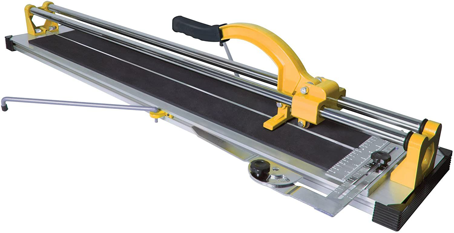 QEP 24-Inch Manual Tile Cutter with Tungsten Carbide Scoring Wheel