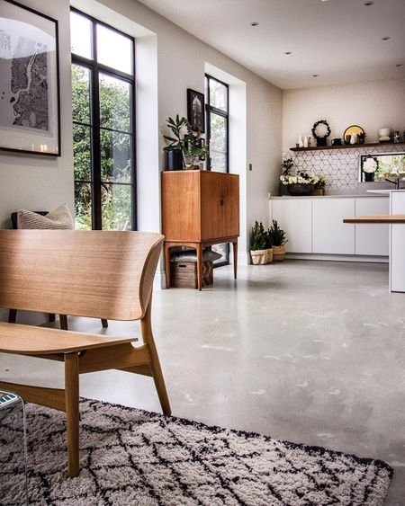 11 Ways To Decorate With Concrete Accents