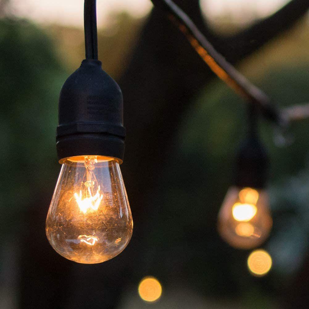 Addlon Outdoor String Lights, 2 Pack