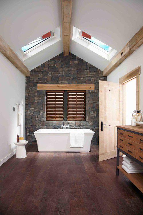 beautiful farmhouse bathroom