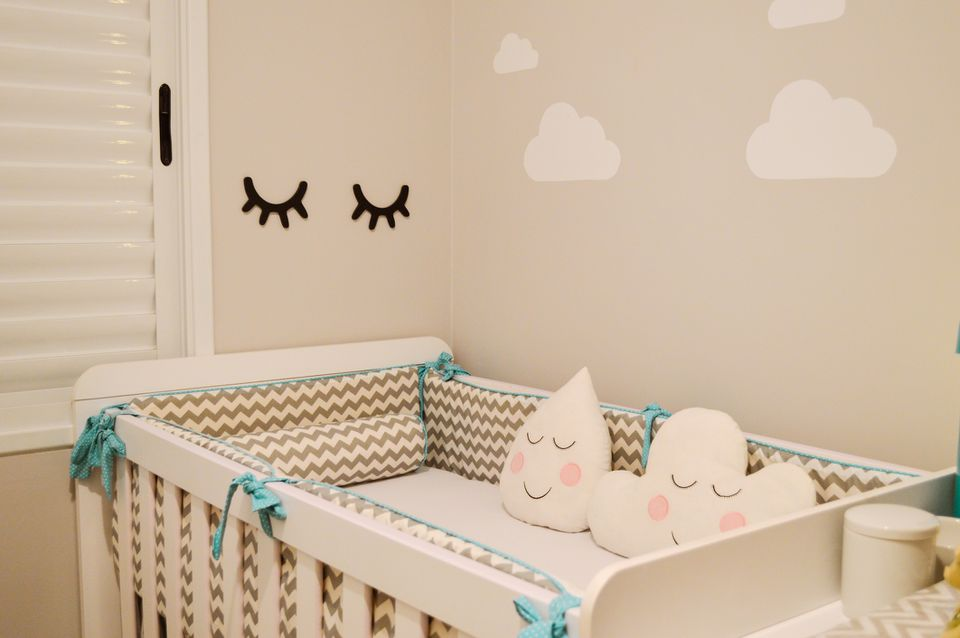 A soothing baby room