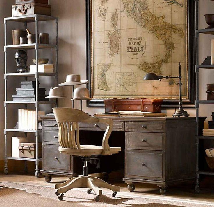 AphroChic: 7 maneras geniales de decorar con mapas y globos vintage