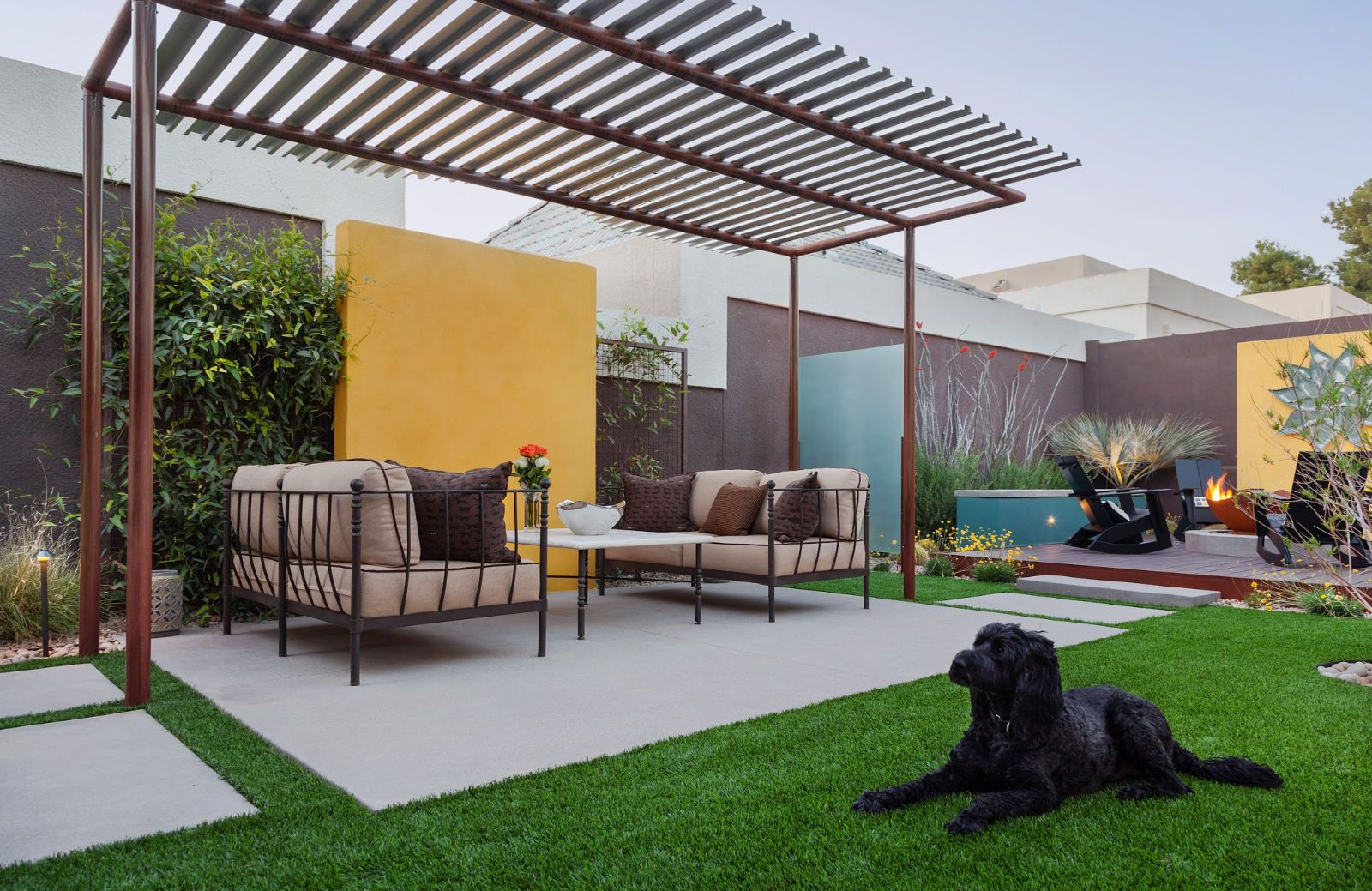 15 Beautiful Concrete Patio Ideas and Designs on backyard gravel ideas, sloped backyard ideas, backyard grass ideas, backyard furniture ideas, backyard pavers ideas, backyard stone ideas, backyard sand ideas, backyard landscaping ideas, backyard building ideas, backyard floor ideas, backyard rock ideas, backyard construction ideas, backyard slate ideas, backyard tile ideas, small backyard ideas, backyard brick ideas, backyard wood ideas, backyard paint ideas, backyard food ideas, backyard water ideas,