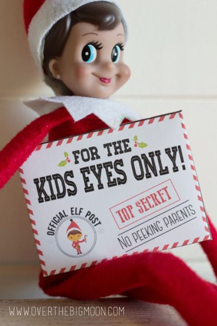 14 Creative Elf On The Shelf Ideas