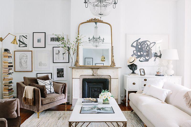 Elegante sala de estar