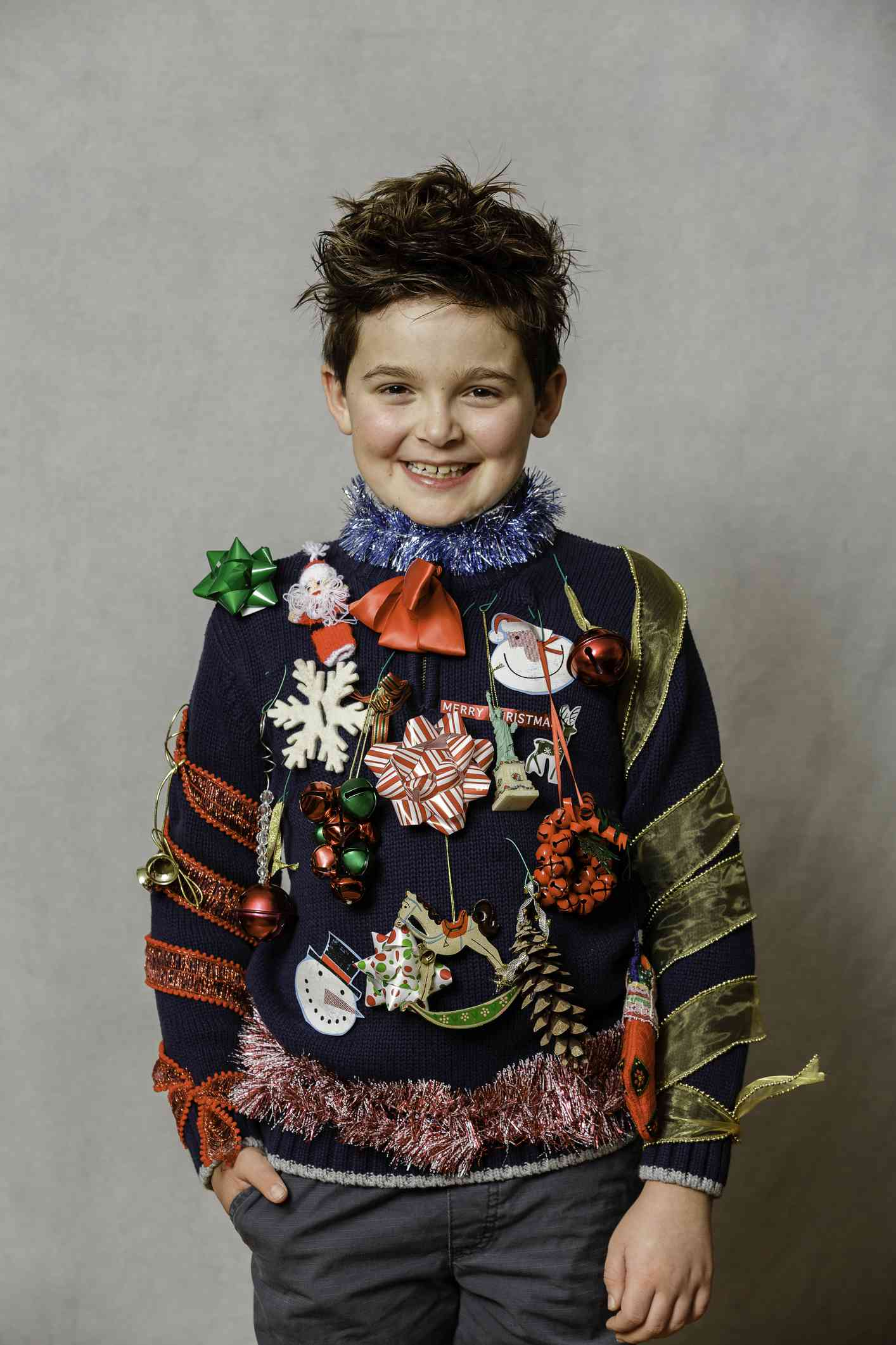 An ugly Christmas Sweater