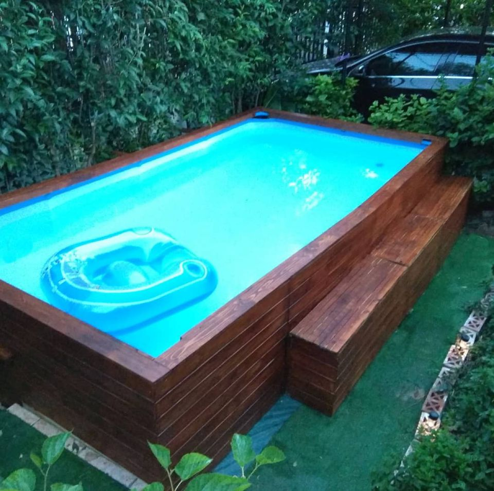 Above ground swimming pools designs shapes and sizes - Largest above ground swimming pool ...